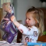 En cykelstol til dukke Sally