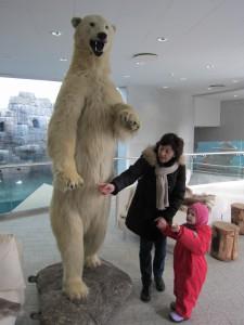Ida. Famor. Isbjørn.