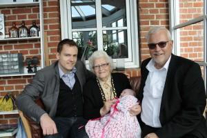 4 generationer Helgren'er