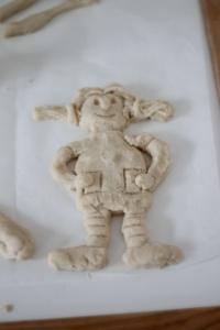 Mor lavede Pippi Langstrømpe