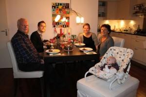 The Helgren's klar til pakjesavond