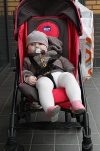 Afslappet baby