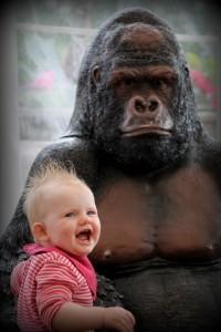 """Ha! Ham der King Kong er da slet ikke farlig!"""