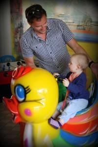 Ida og far leger