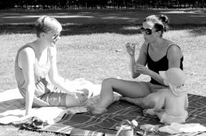 Damer i Vondelpark