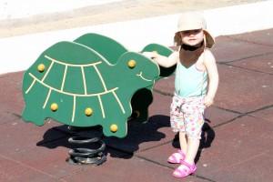 Farmor, vi sku' hilse fra turtlerne!