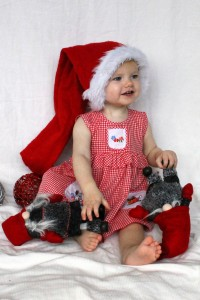 Et af billederne fra gårsdagens julekort-foto-session