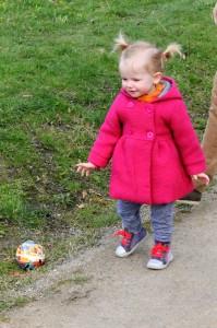 Ida spillede bold i Søndermarken