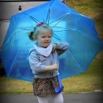 Godt man havde en paraply